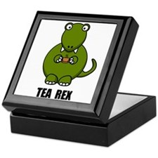 Tea Rex Dinosaur Keepsake Box