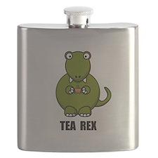 Tea Rex Dinosaur Flask
