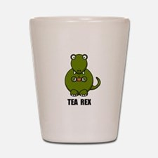 Tea Rex Dinosaur Shot Glass