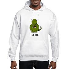 Tea Rex Dinosaur Hoodie