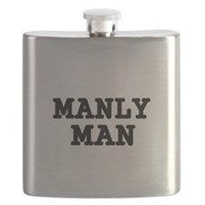 MANLY MAN Flask