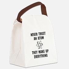 Trust Atom Canvas Lunch Bag