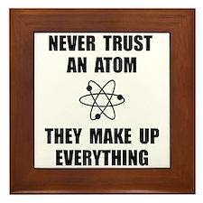 Trust Atom Framed Tile