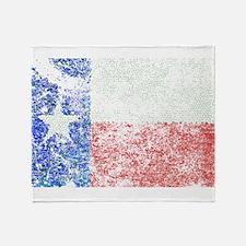 Vintage Texas Flag Throw Blanket