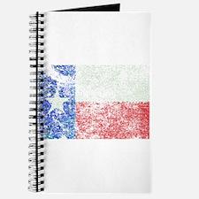 Vintage Texas Flag Journal