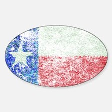 Vintage Texas Flag Decal