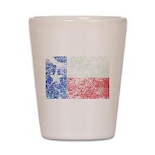 Vintage Texas Flag Shot Glass