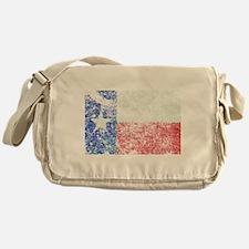 Vintage Texas Flag Messenger Bag