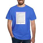 Le Pacte--Français Dark T-Shirt