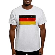 antiqued German flag T-Shirt