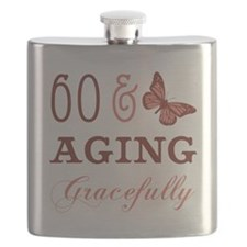 60 & Aging Gracefully Flask