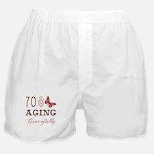70 & Aging Gracefully Boxer Shorts