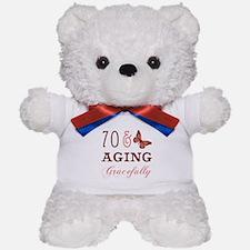 70 & Aging Gracefully Teddy Bear