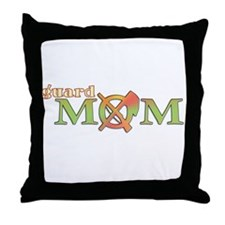 Guard Mom Throw Pillow