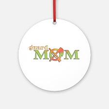 Guard Mom Ornament (Round)
