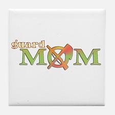 Guard Mom Tile Coaster