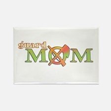 Guard Mom Rectangle Magnet