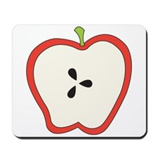 Apple Slice Mousepad