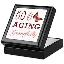 80 & Aging Gracefully Keepsake Box