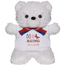 80 & Aging Gracefully Teddy Bear