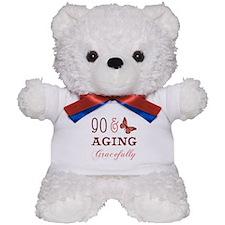 90 & Aging Gracefully Teddy Bear