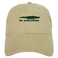 St. Augustine - Alligator Design. Baseball Cap