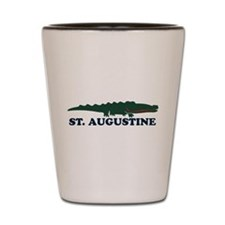 St. Augustine - Alligator Design. Shot Glass