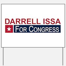 Elect Darrell Issa Yard Sign