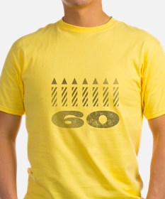 60th Birthday Candles T