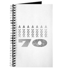 70th Birthday Candles Journal