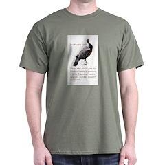 Ben Franklin said T-Shirt