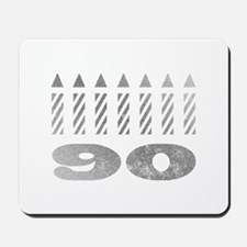90th Birthday Candles Mousepad