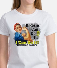 If Rosie Can Do It Sarcoma Women's T-Shirt