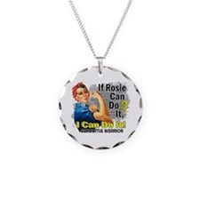 If Rosie Can Do It Sarcoma Necklace