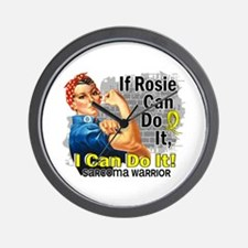 If Rosie Can Do It Sarcoma Wall Clock