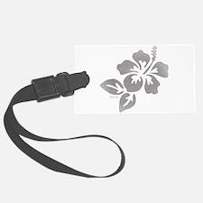 Hawaiian Flower Luggage Tag