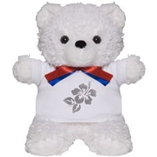 Hawaiian Flower Teddy Bear