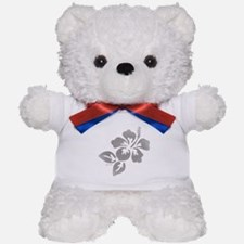 Hawaiian Flower Teddy Bear