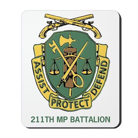 211th Military Police Battalion Mousepad