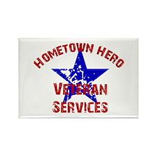 Home.Hero Veteran Affairs Rectangle Magnet