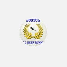 Boston Strong Keep Running Mini Button (10 pack)
