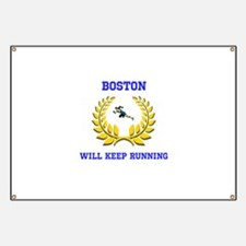 Boston Strong Keep Running Banner