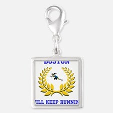 Boston Strong Keep Running Charms