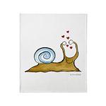 Self-Loving Snail | Throw Blanket
