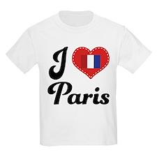 I Heart Paris Flag T-Shirt