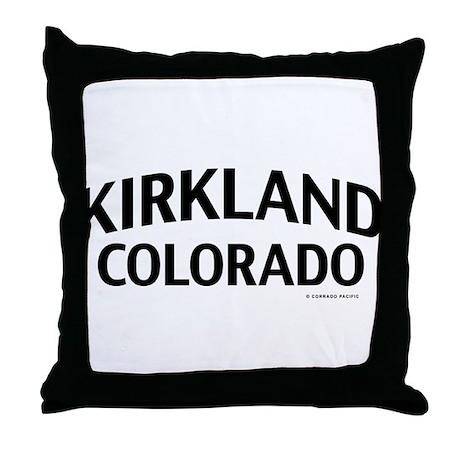 Kirklands Throw Pillow Covers : Kirkland Colorado Throw Pillow by abcpColorado