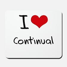 I love Continual Mousepad