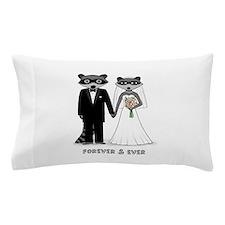 Raccoons Wedding Pillow Case