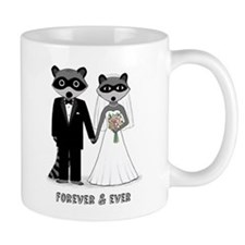 Raccoons Wedding Mug