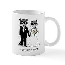 Raccoons Wedding Mug